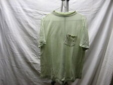 Vintage Light Material M Lime Green Golf Polo Shirt