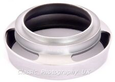 Metal Lens Hood 39 MM pour LEICA SUMMICRON 2/50 Tele-Elmar 135 mm summaron 35 mm E39
