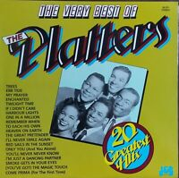 "Platters - The Very Best Of The Platters.  Aussie  Only 12"" LP. Rare Label Error"