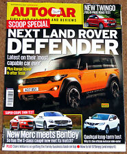 Autocar 29 Oct 2014 - NEW DEFENDER - TWINGO - BMW E30 318iS - BENTLEY v AMG S63