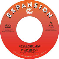 """SYLVIA STRIPLIN """" GIVE ME YOUR LOVE """" / """" YOU CAN'T TURN ME AWAY """" NEW UK 7"""""""