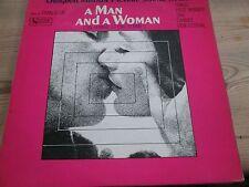 "A man and a woman soundtrack 12"" vinyl album lp."