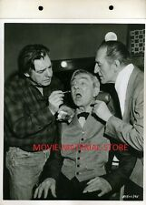 "Bela Lugosi Lon Chaney The Black Sleep Original 8x10"" Key Book Photo  L4757"