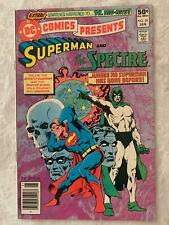 DC COMICS PRESENTS (1981) #29 STARLIN WEIN VF+ SPECTRE SUPERMAN