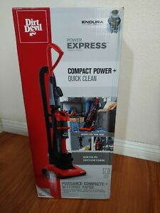 Dirt Devil Vacuum Cleaner Power Express Compact Bagless Upright Vacuum #UD20120