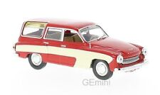 Whitebox WHT264 - Wartburg 312 Camping rouge / blanc - 1960  1/43