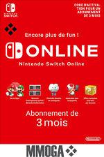 Nintendo Switch Online Abonnement 3 mois - 90 jours Compte français - FR & UE