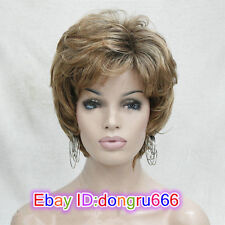 Ladies cosplay wig for women Synthetic curly full wigs Like real hair + wig cap