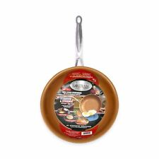 "Gotham Steel 12.5"" Non-Stick XL Copper Frying Pan By Daniel Green - Brand New!"