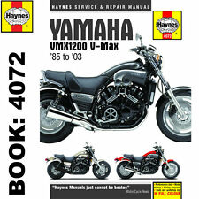 Yamaha VMX1200 V-MAX 1985-2003 Haynes Workshop Manual