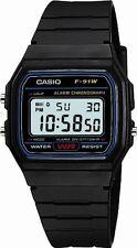 CASIO F-91W-1JF Standard Digital Black Men's Watch Shipping from Japan