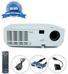 Refurbished Nec NP115 DLP Projector 2500 Lumens HD 1080i Accessories