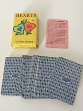1951 Whitman Hearts Miniature Card Game - Complete