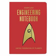 Classic Star Trek Tv Series Starfleet Ufp Engineering NoteBook New Unused