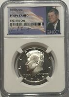 1969 S NGC PF69 STAR PROOF KENNEDY HALF DOLLAR BRIGHT WHITE COIN 50C