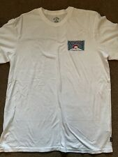 Billabong - Mens - Premium Tee- T-Shirt - White - Surf Clothing  Large Core Fit