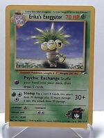 Erika's Exeggutor 44/132 Pokemon Gym Heroes Uncommon Grass Damaged See Pictures