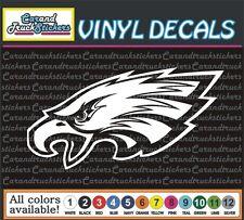 "6"" Philadelphia Eagles Football Vinyl Car Decal window bumper sticker"