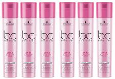 6x Schwarzkopf BC BONACURE Color Freeze Silver Silber Shampoo coloriert 250ml