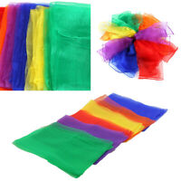 12Pack Dance Autism Sensory Toys Juggling Scarves Kids Adults Party Gift F5A