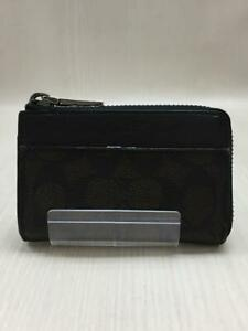 COACH _ Stainless Steel Stainless Brown Fashion Key case 397 From Japan