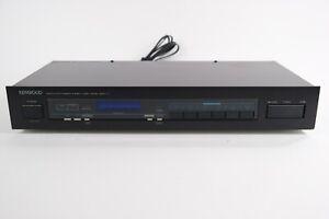 Vintage Kenwood Quartz Synthesizer Stereo Tuner Model Basic T1