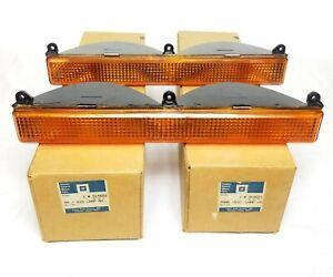 SET OF 2 FRONT OEM Turn Signal Lens Light 1980-89 Fleetwood 1980-84 Deville
