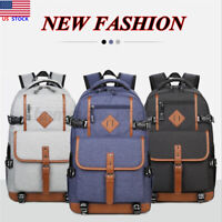 Men Large Waterproof Backpack Laptop Handbag Shoulder Bag Handbag Rucksack
