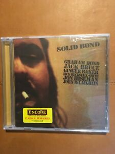 GRAHAM BOND. / JACK BRUCE                     SOLID BOND          COMPACT DISC