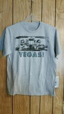 THE HANGOVER TEE LARGE GRAY GRAPHIC SHORT SLEEVE VEGAS