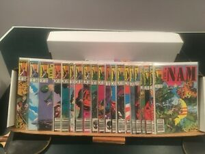 THE 'NAM LOT OF 20 ISSUES # 1-20 (1986)