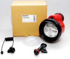 INON D-200 Nuevo Superflash INON Strobe Kit Difusor + Cable Óptica + Z-Adapter
