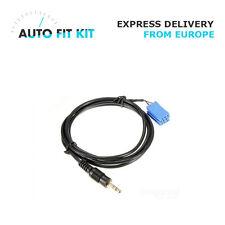Blaupunkt Aux in input adapter lead for car radio iPod iPhone iPad Mp3 jack