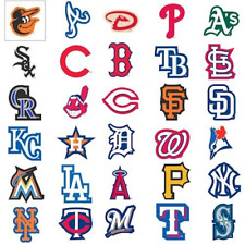 MLB Team Logo Decal Stickers Baseball CHOOSE YOUR TEAM INDOOR USE ONLY