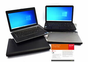 Cheap Windows 10 Laptop WiFi 4GB RAM 250GB HDD - FAST DELIVERY