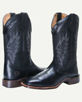 Noble N65005-019 Mens Black All-Around Square Toe Boot FAST FREE USA SHIPPING