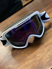 * Oakley O Frame 2.0 Pro XM Matte White Violet Iridium Persimmon
