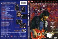 Santana : Supernatural Live  DVD NEW
