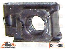 ECROU CAGE M7 fixation pare-chocs & chassis caisse Citroen 2CV DYANE AMI6  -669-