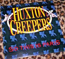 HUXTON CREEPERS ~ SO THIS IS PARIS. Orig Oz 1988 vinyl LP. M/M-.