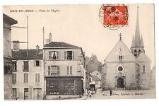 CPA 78 - JOUY EN JOSAS (Yvelines) - Place de l'Eglise - Ed. Epicerie A. Martin