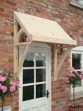 "Timber Front Door Canopy Porch, ""THE ELLESMERE"" Lean to"