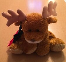 Mary Meyer Flip Flops Christmas Reindeer Green Scarf