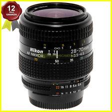 Obiettivo zoom Nikon AF Nikkor 28/70mm f3,5-4,5 usato per fotocamere reflex