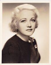 WYNNE GIBSON Original Vintage 1934 FREULICH Universal Studio DBW Portrait Photo