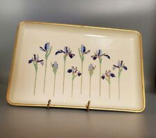 Two Vintage Otagiri Japan Lacquerware Trays Pattern