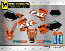 KTM EXC 450 525 2003 stickers kit graphics decals Moto StyleMX