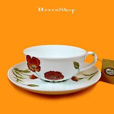 Tasse mit Unterteller Poppy  Cha Cult Teetasse