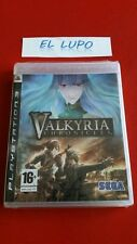 VALKYRIA CHRONICLES PS3 SONY NEUF SOUS BLISTER VERSION FRANCAISE