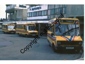 BUS PHOTO: NATIONAL WELSH FREIGHT ROVER SHERPA 149 E149RNY